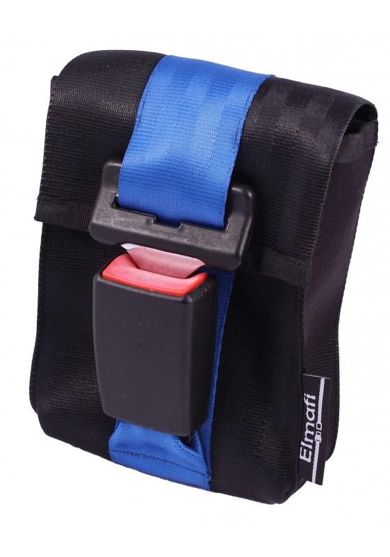 CitiGo black and plum - z bezpečnostních auto pásů