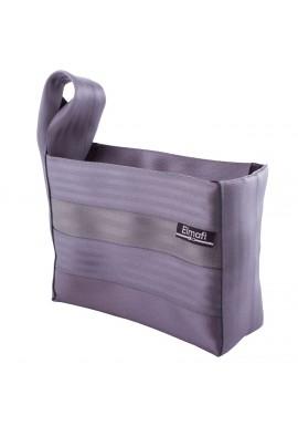 Smart XL silver - z bezpečnostních auto pásů