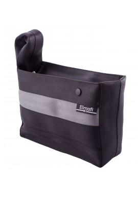 Smart XL black and silver - z bezpečnostních auto pásů