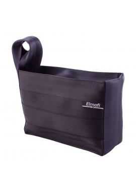 Smart XL black - z bezpečnostních auto pásů
