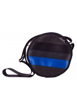 Polo black and plum - z bezpečnostních auto pásů