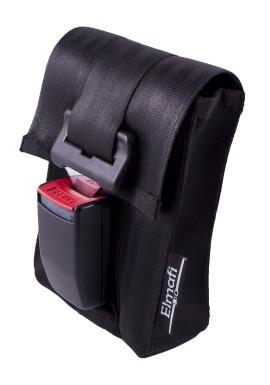 CitiGo black and silver - z bezpečnostních auto pásů